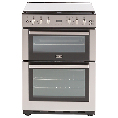 Stoves SFG60DOP Fanned Gas Cooker, Stainless Steel
