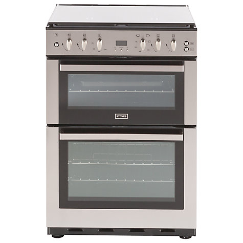 buy stoves sfg60dop fanned gas cooker stainless steel john lewis buy stoves sfg60dop fanned gas cooker stainless steel online at johnlewis com