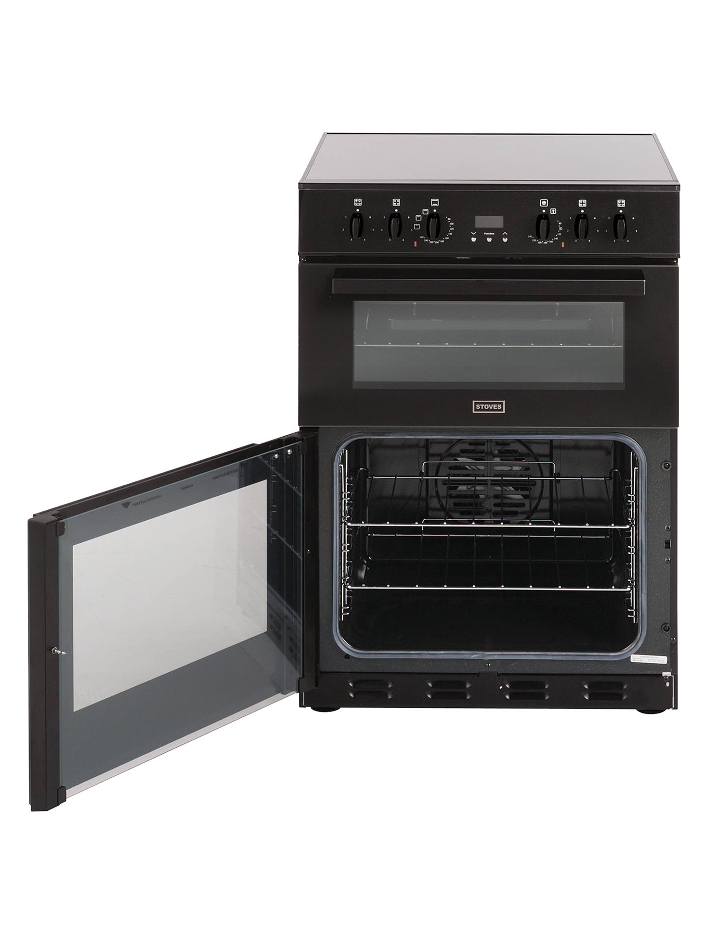 Buy Stoves SEC60DOP Electric Cooker, Black Online at johnlewis.com
