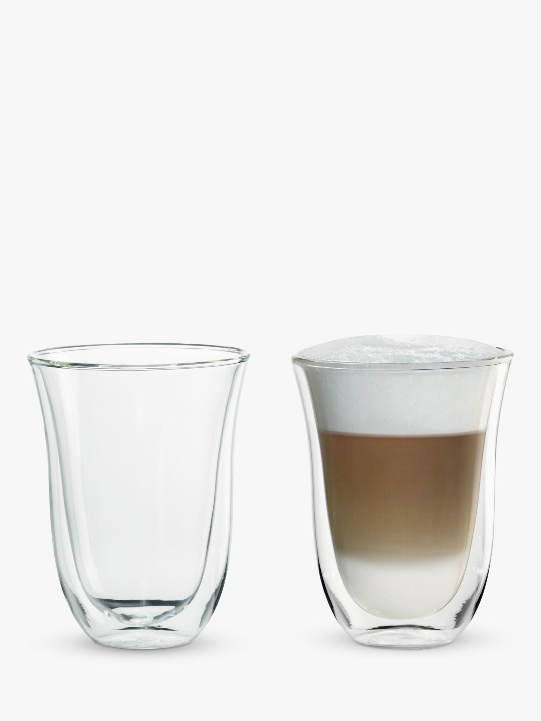 Delonghi De'Longhi Latte Macchiato Glasses, Set of 2