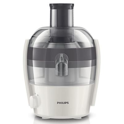 Philips HR1832/31 Compact Viva Collection Juicer, White