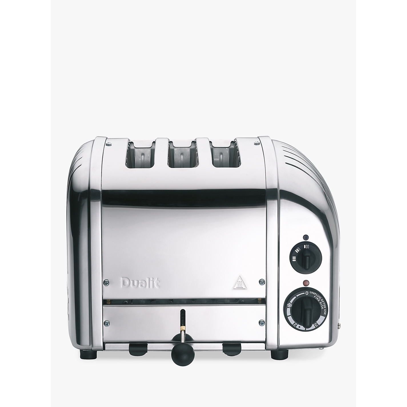 Buy Dualit 3 Slot Vario Toaster Stainless Steel