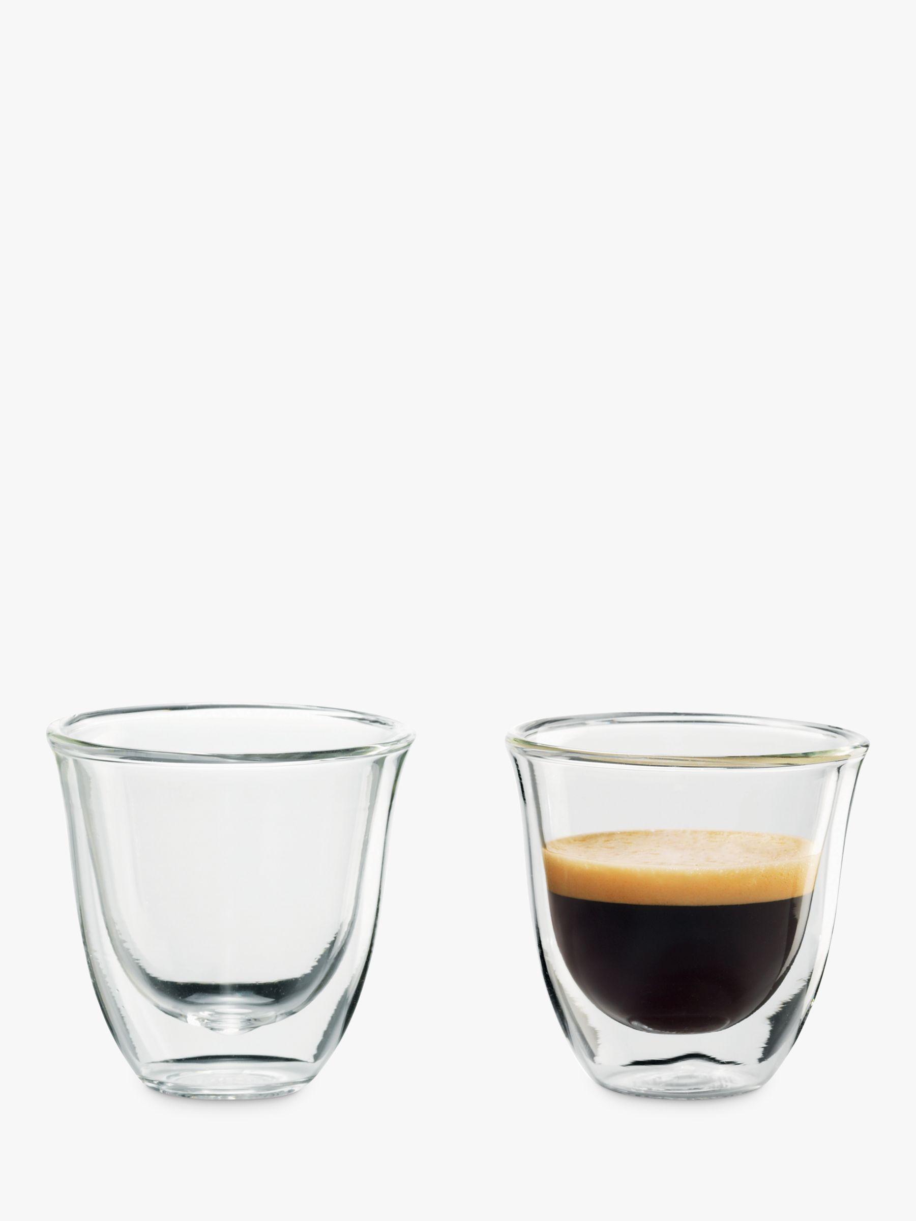 Delonghi De'Longhi Espresso Glasses