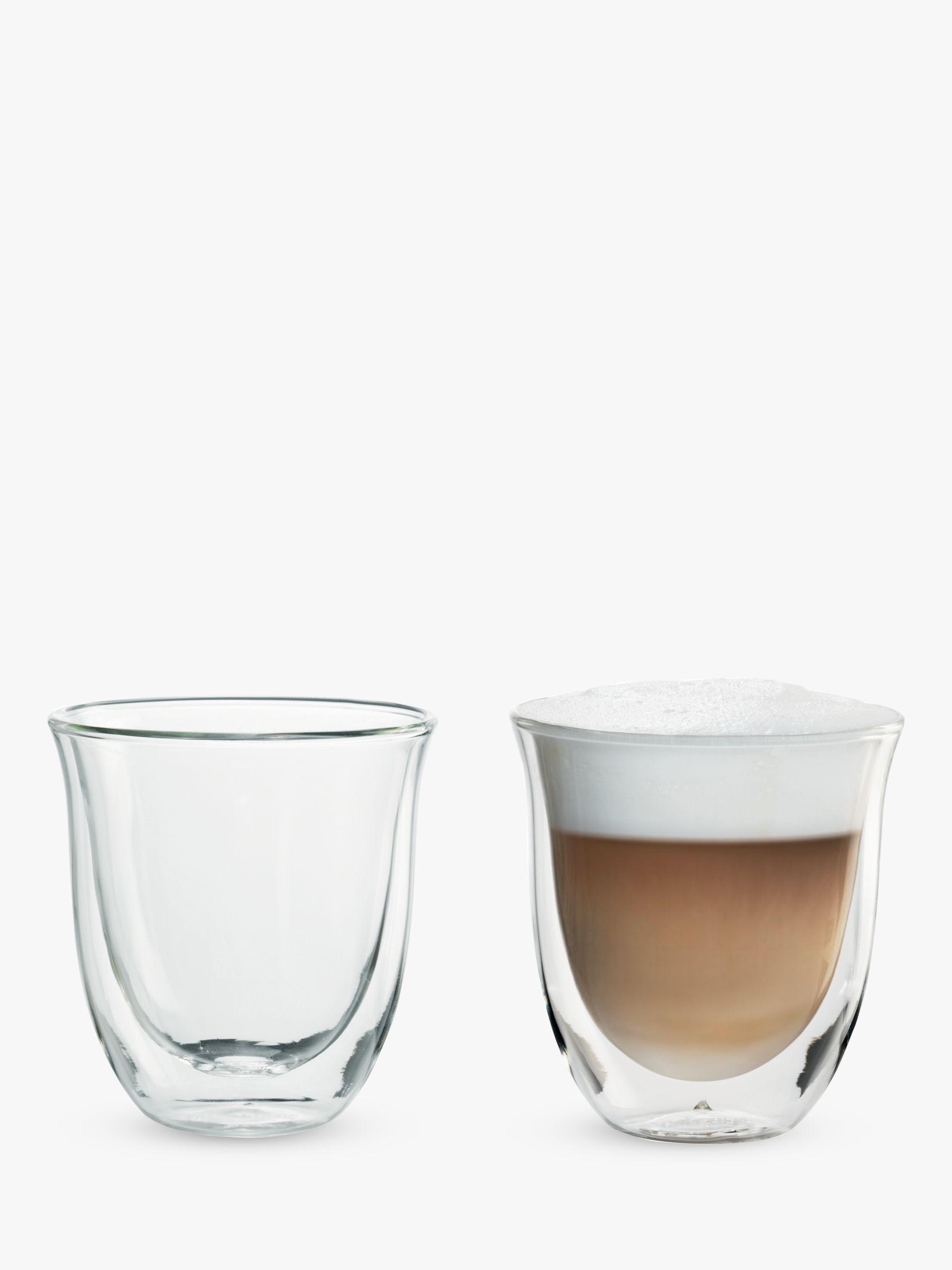 Delonghi De'Longhi Cappuccino Glasses, Set of 2