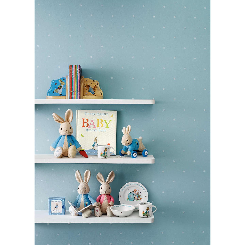 Beatrix Potter Peter Rabbit Wedgwood 3 Piece Nursery Set Online At Johnlewis