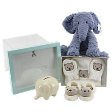 Buy John Lewis Medium Baby Hamper, Blue Online at johnlewis.com