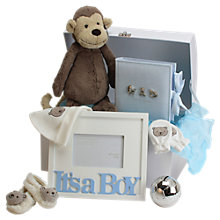 Buy John Lewis It's A Boy Large Baby Hamper, Blue Online at johnlewis.com