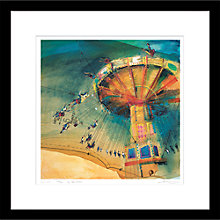 Buy Rob Wilson - Carousel Framed Limited Edition Giclee Print, 59 x 59cm Online at johnlewis.com