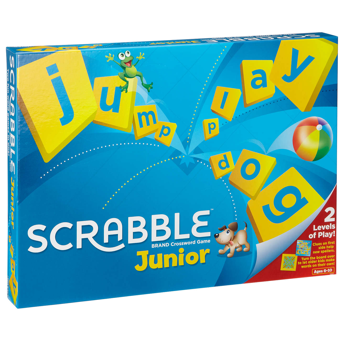 Junior Scrabble Game with Spelling Book at John Lewis