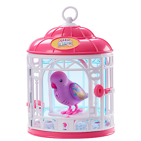 Buy Little Live Pets Tweet Talking Bird In A Cage, Assorted Online at johnlewis.com