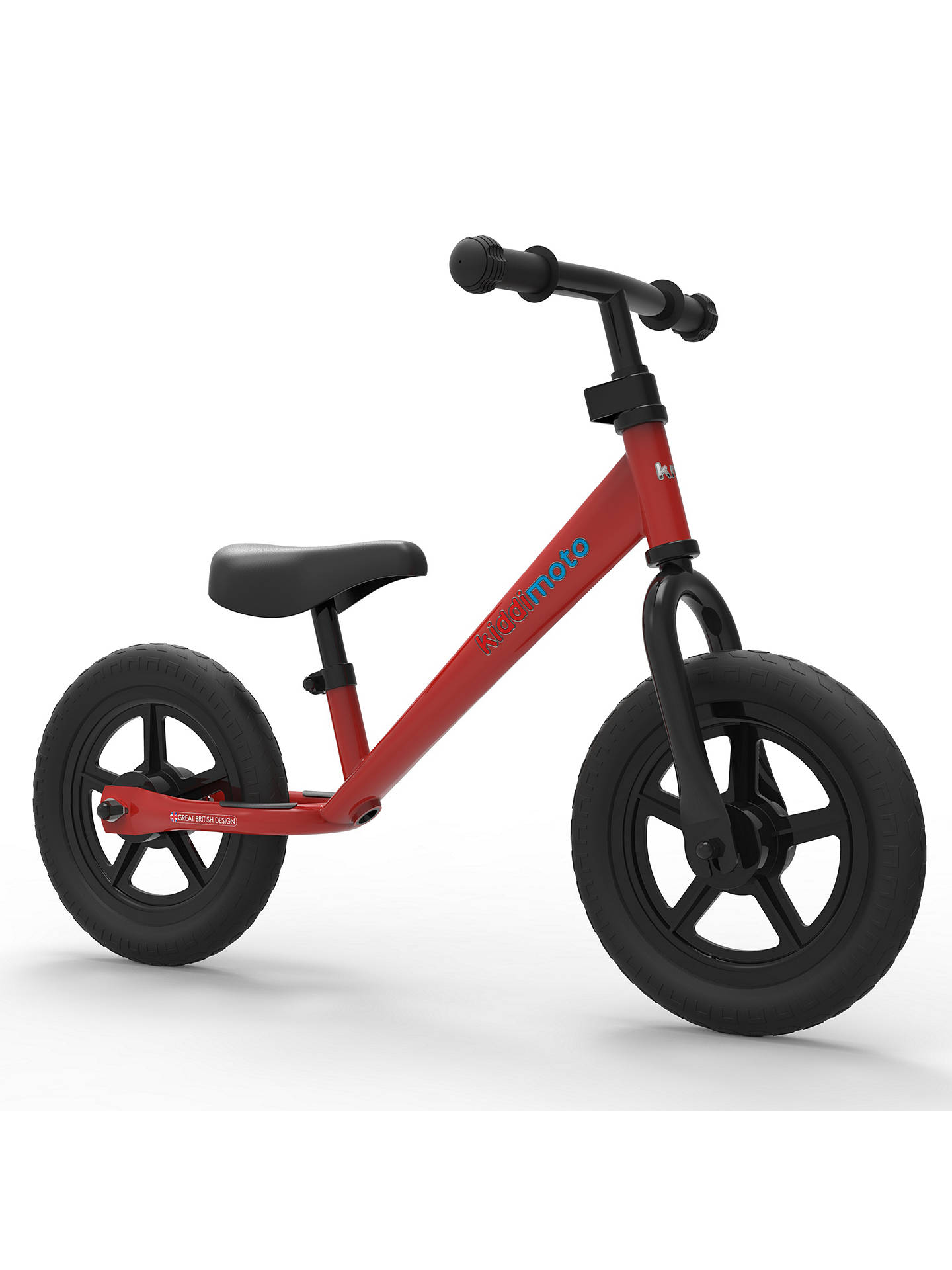 Buy Kiddimoto Super Junior Balance Bike, Red Online at johnlewis.com