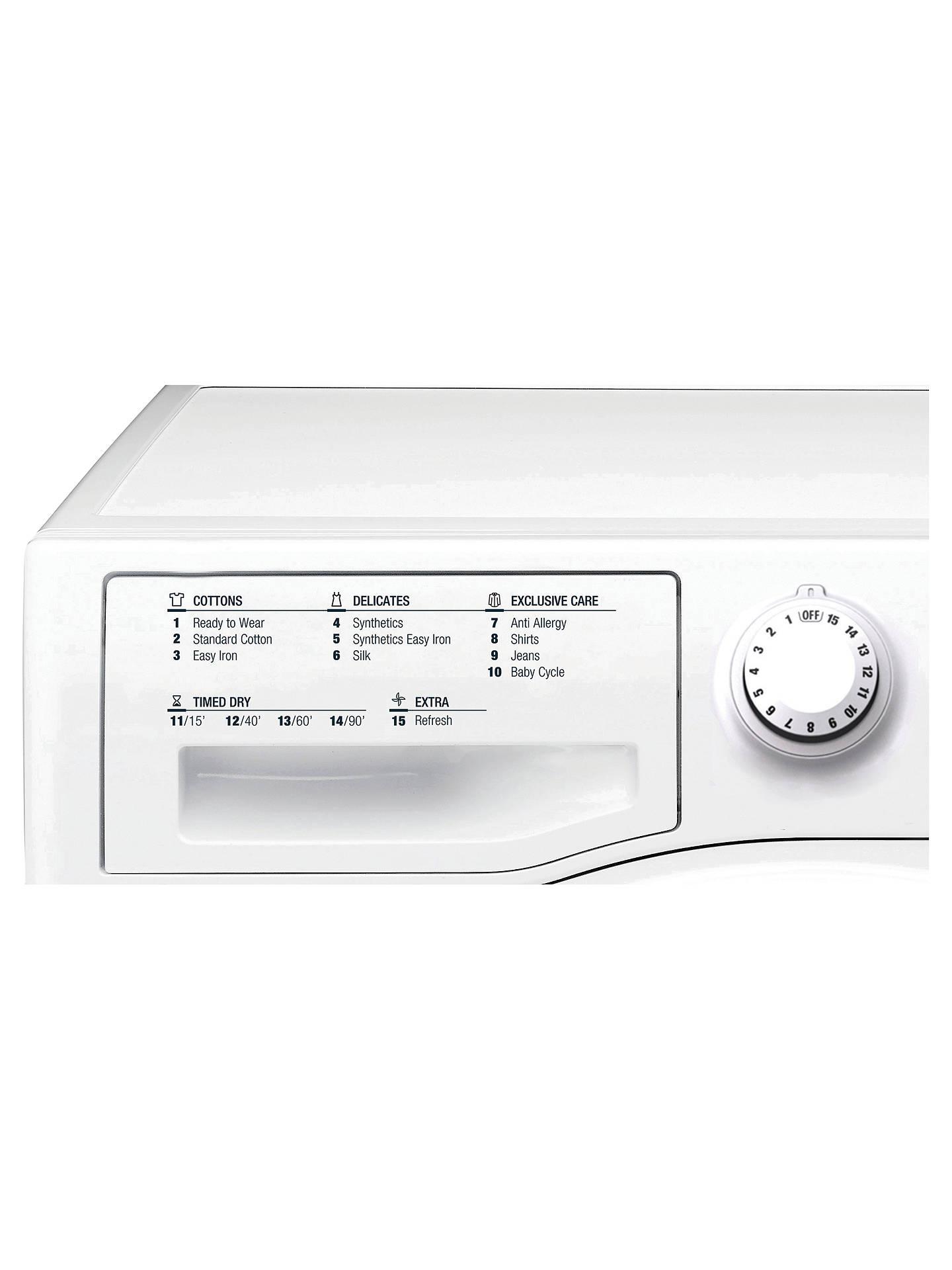 Hotpoint TCFS83BGP 8kg Freestanding Condenser Sensor Dryer Polar White