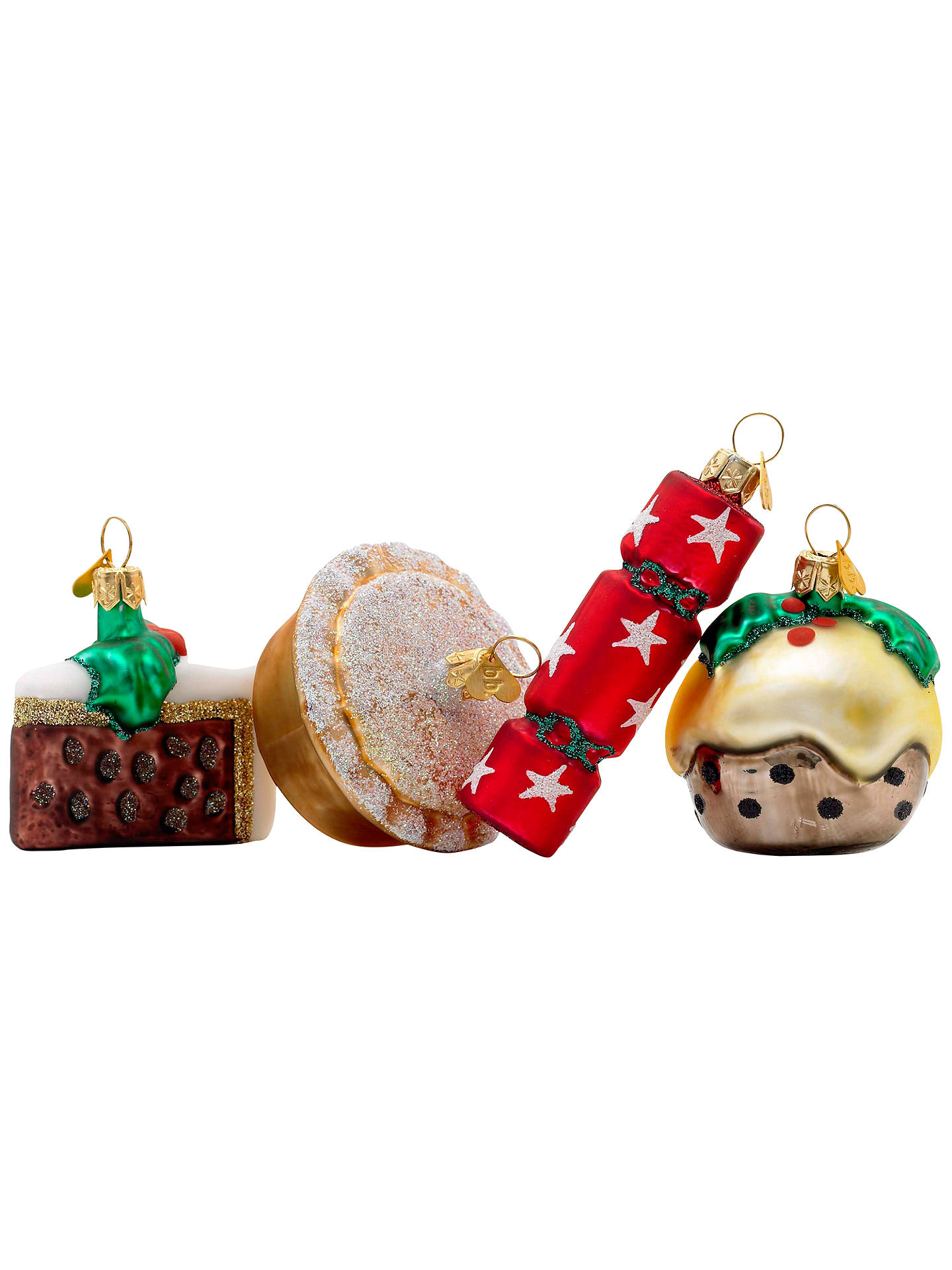 Buy Bombki Tourism Little English Christmas Ornaments, Set of 4 Online at johnlewis.com