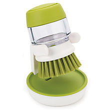 Buy Joseph Joseph Palm Scrub Soap-Dispensing Washing-Up Brush Online at johnlewis.com