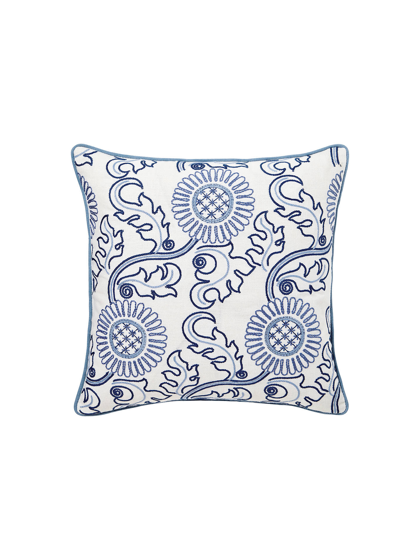 Buy Morris & Co Willow Boughs Cushion Online at johnlewis.com