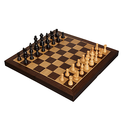 Image of John Lewis & Partners Classic Wooden Chess Set, Large