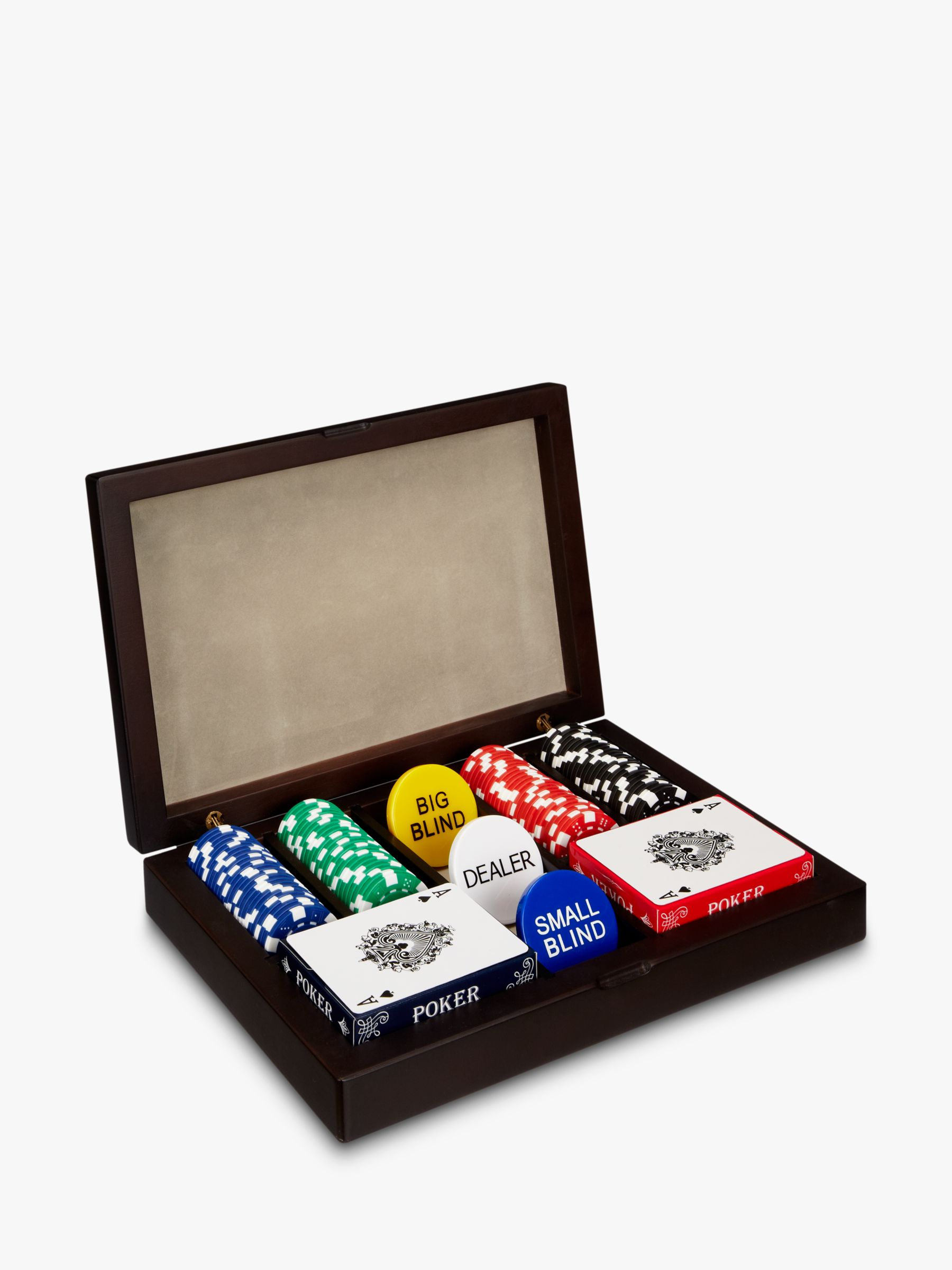 John Lewis Classic Poker Set