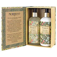 Buy Heathcote & Ivory Morris & Co Golden Lily Hand Wash & Hand Lotion Duo Online at johnlewis.com