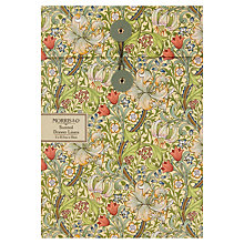 Buy Heathcote & Ivory Morris & Co Golden Lily Scented Drawer Liners, x 5 Sheets Online at johnlewis.com