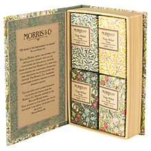 Buy Heathcote & Ivory Morris & Co Golden Lily Guest Soap Set, 200g Online at johnlewis.com