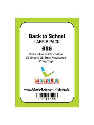 Labels4Kids School Multi-Pack