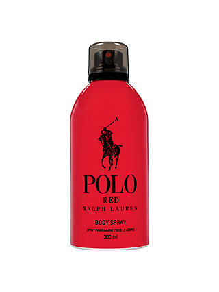 Buy Ralph Lauren Polo Red Body Spray, 300ml Online at johnlewis.com