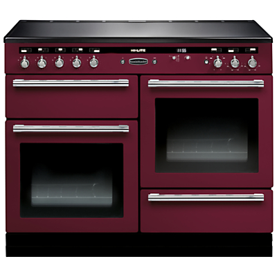 Rangemaster Hi-LITE 110 Induction Hob Range Cooker at John Lewis Department Store