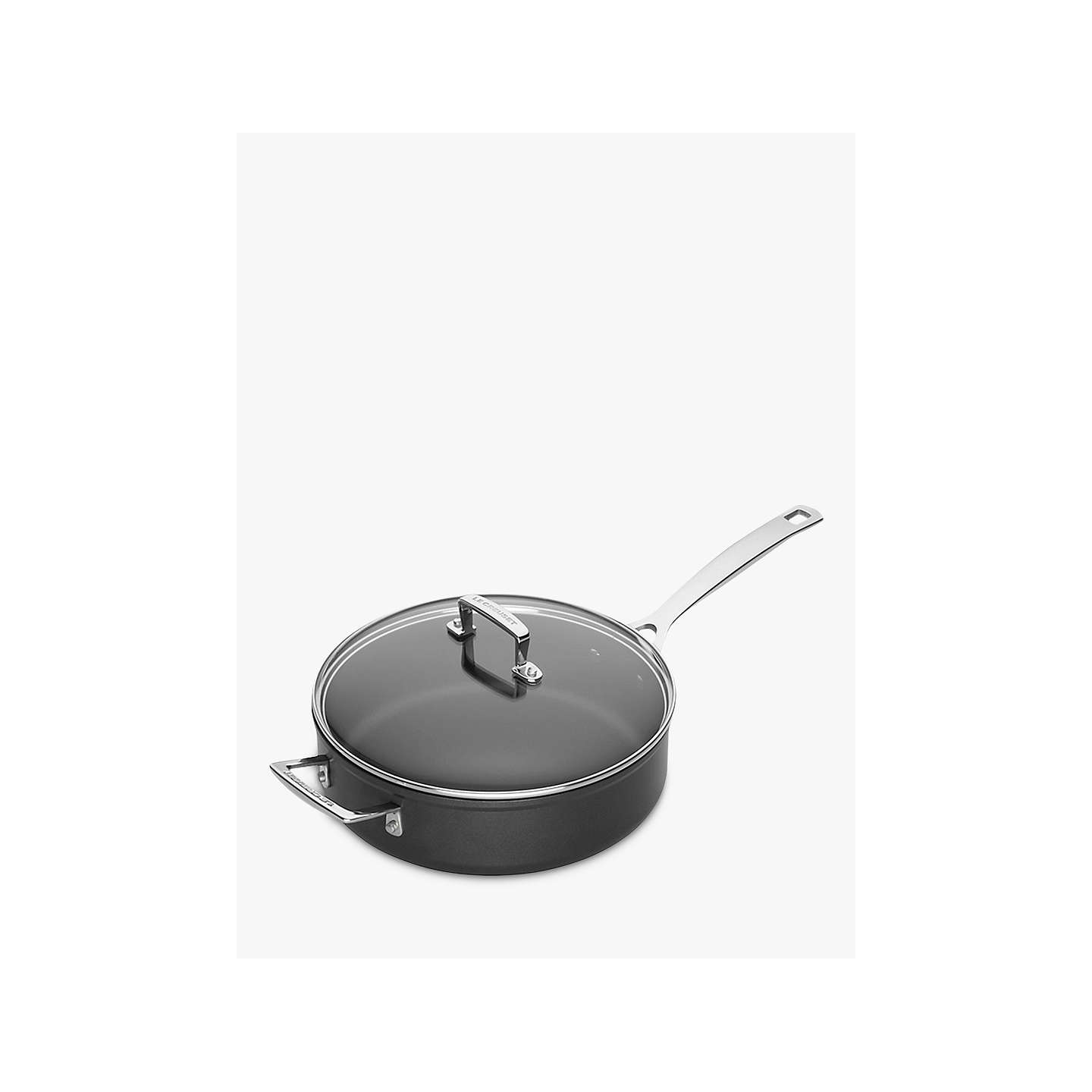 le creuset toughened non stick 26cm saute pan at john lewis. Black Bedroom Furniture Sets. Home Design Ideas