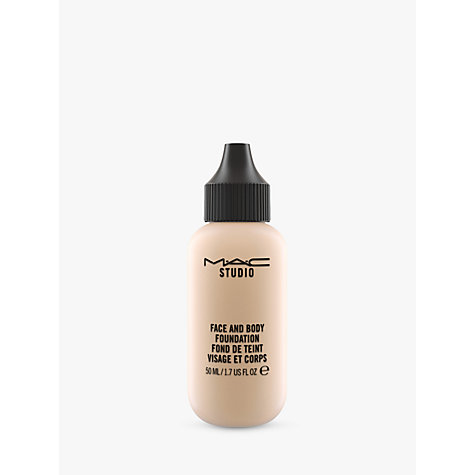 Buy MAC Face/Body Foundation Online at johnlewis.com