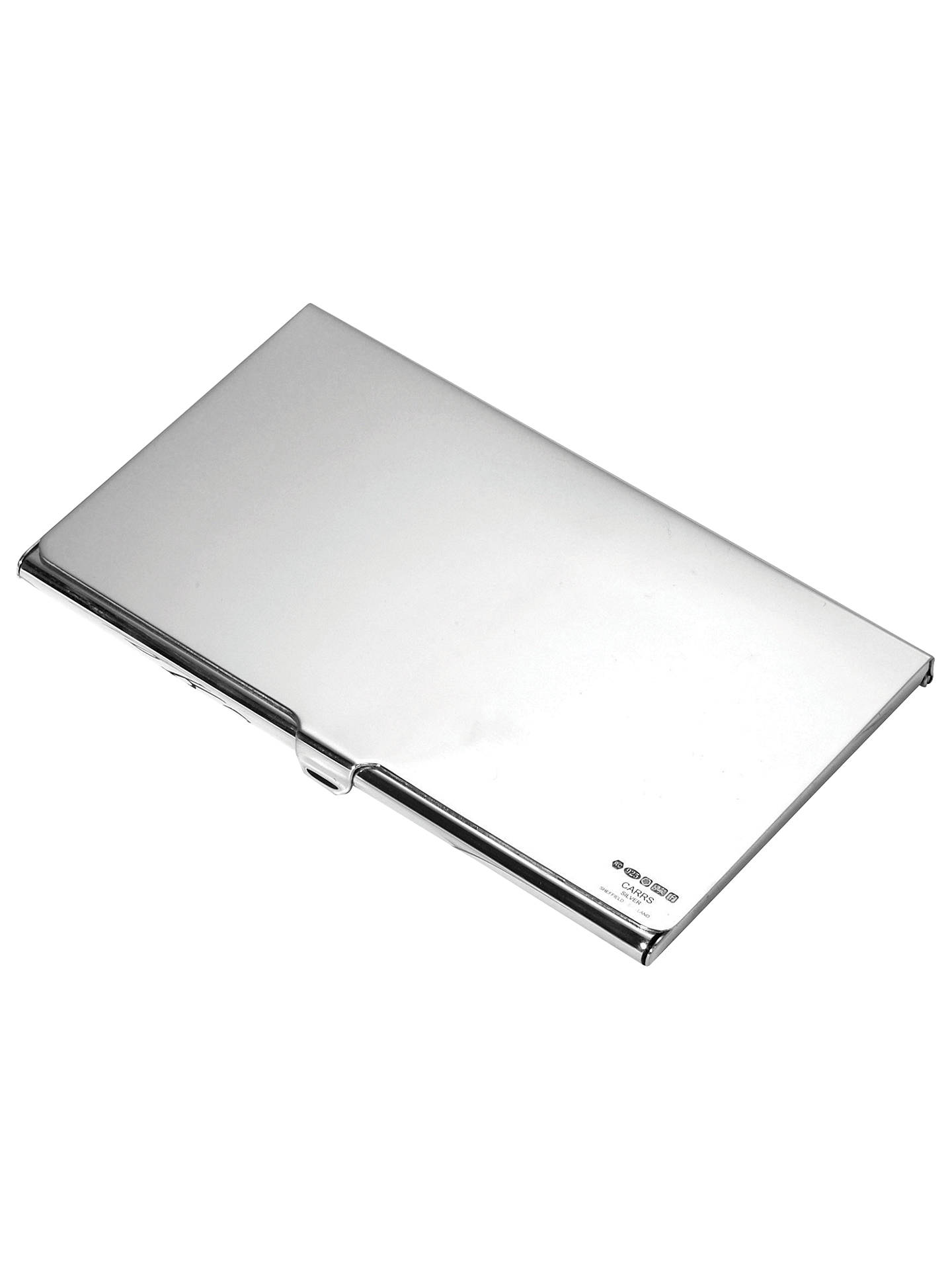 buycarrs harvard sterling silver business card holder online at johnlewiscom - Silver Business Card Holder