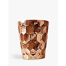 Buy Tom Dixon Hex Champagne Bucket, Copper Online at johnlewis.com