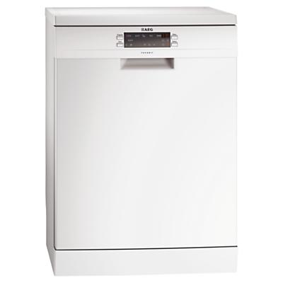 AEG F66609W0P Freestanding Dishwasher White