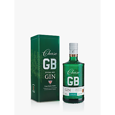 Chase Extra Dry Gin in Racing Green Tin 70cl