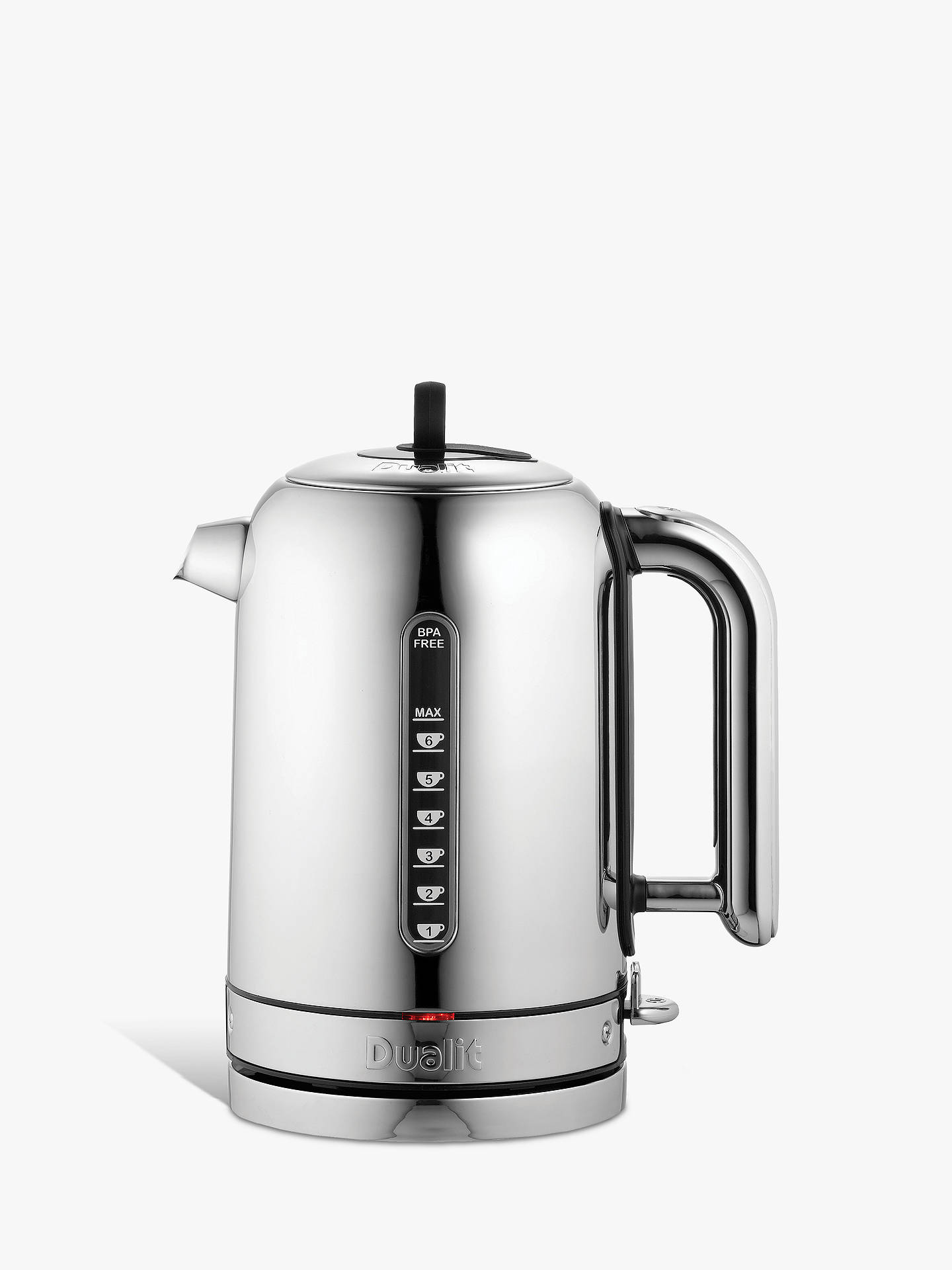 0e0bfdf0a8e6 Buy Dualit Classic Kettle, Polished Stainless Steel Online at johnlewis.com  ...