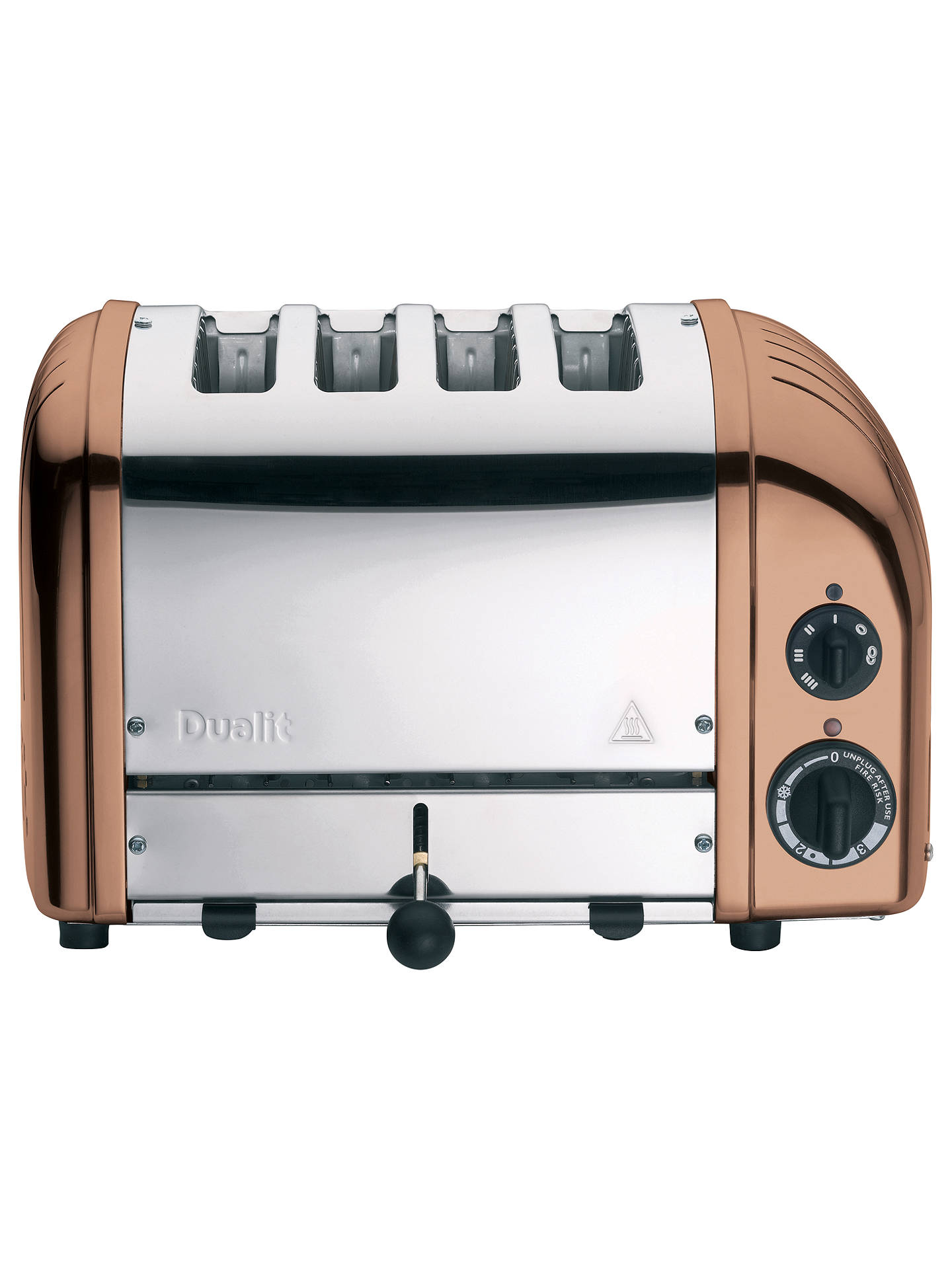 Buy Dualit NewGen 4-Slice Toaster, Copper Online at johnlewis.com
