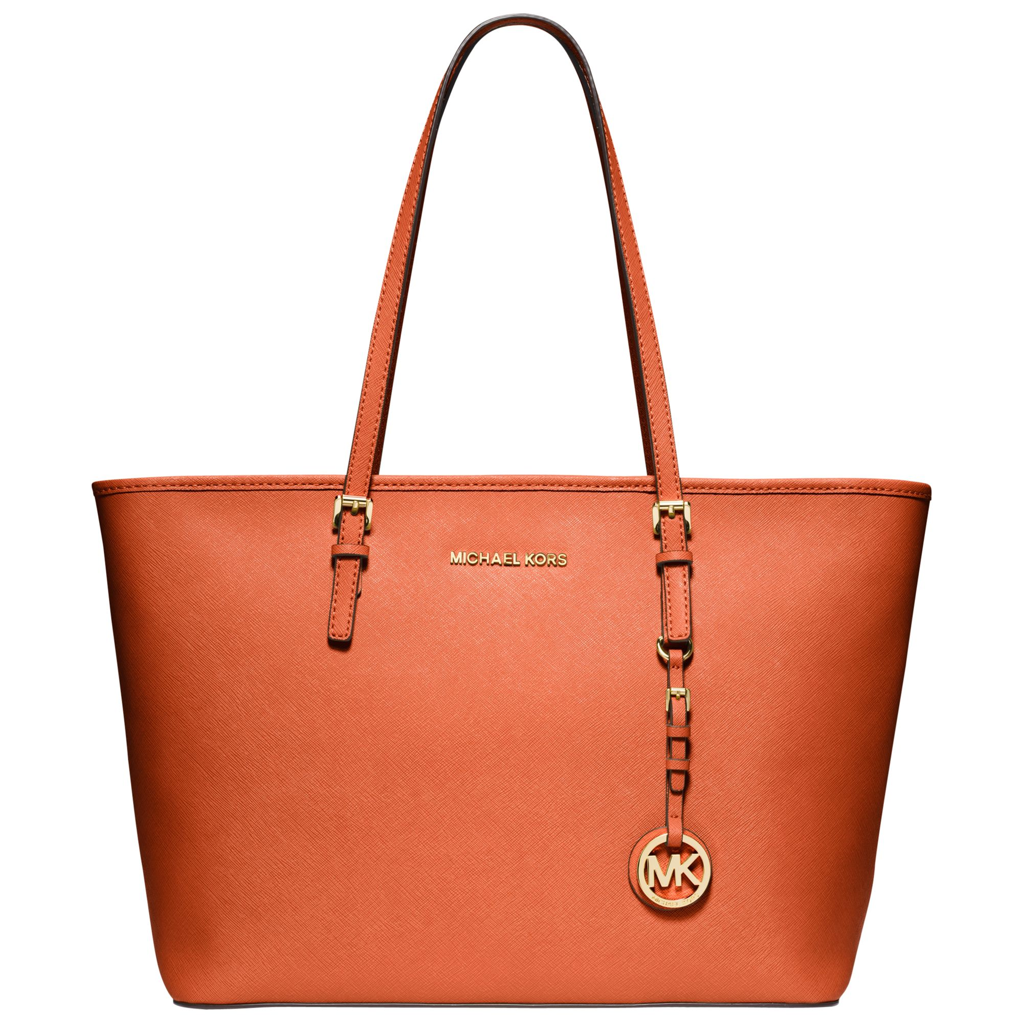 orange MK bag