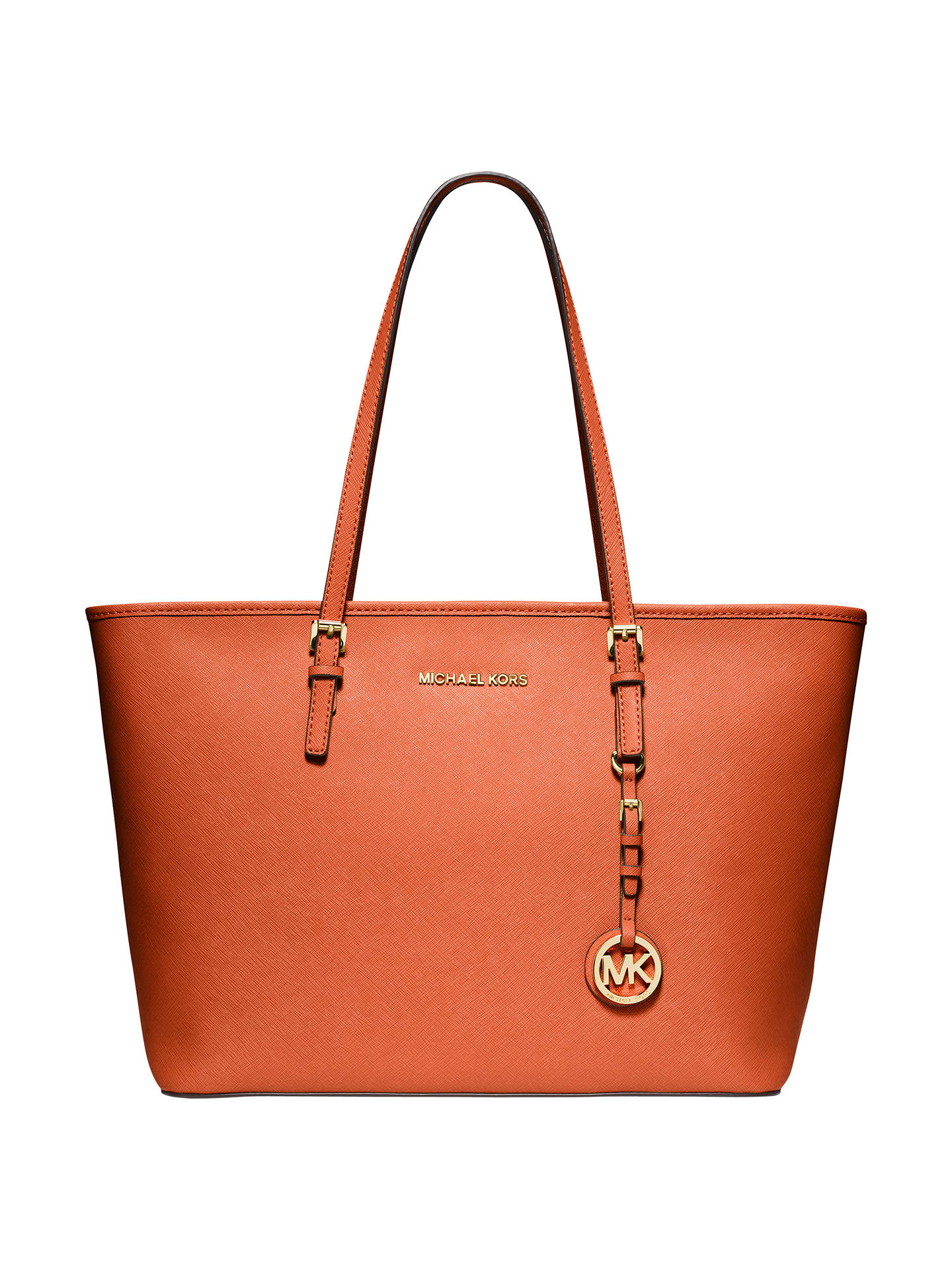 5bb6799972fd Buy MICHAEL Michael Kors Jet Set Travel Top-Zip Leather Tote