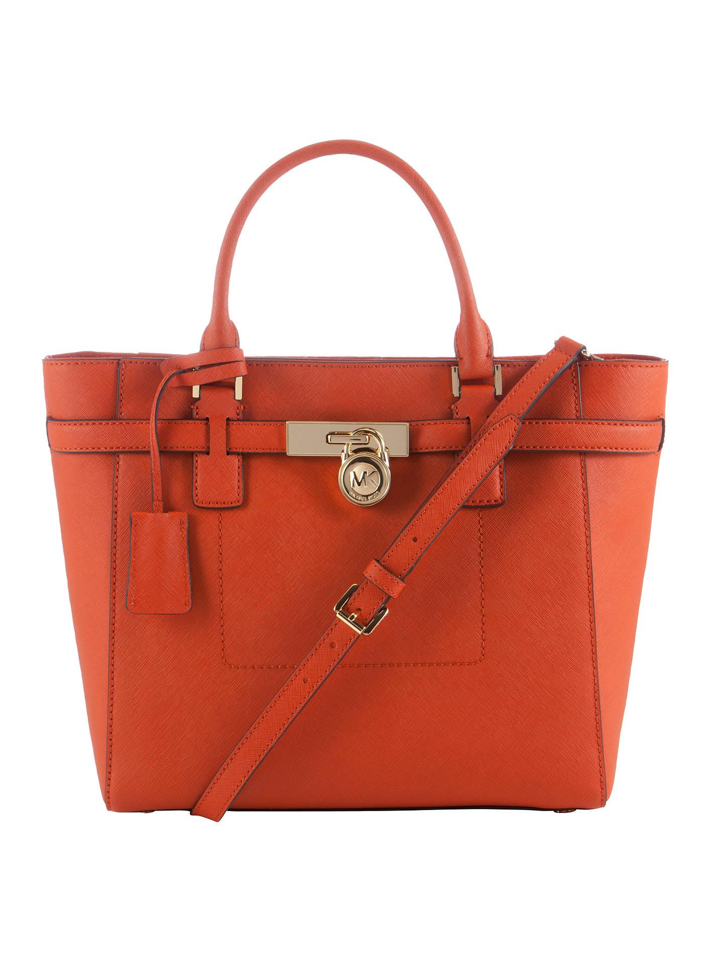 d116364be7e2 MICHAEL Michael Kors Hamilton Medium Saffiano Leather Tote Bag ...
