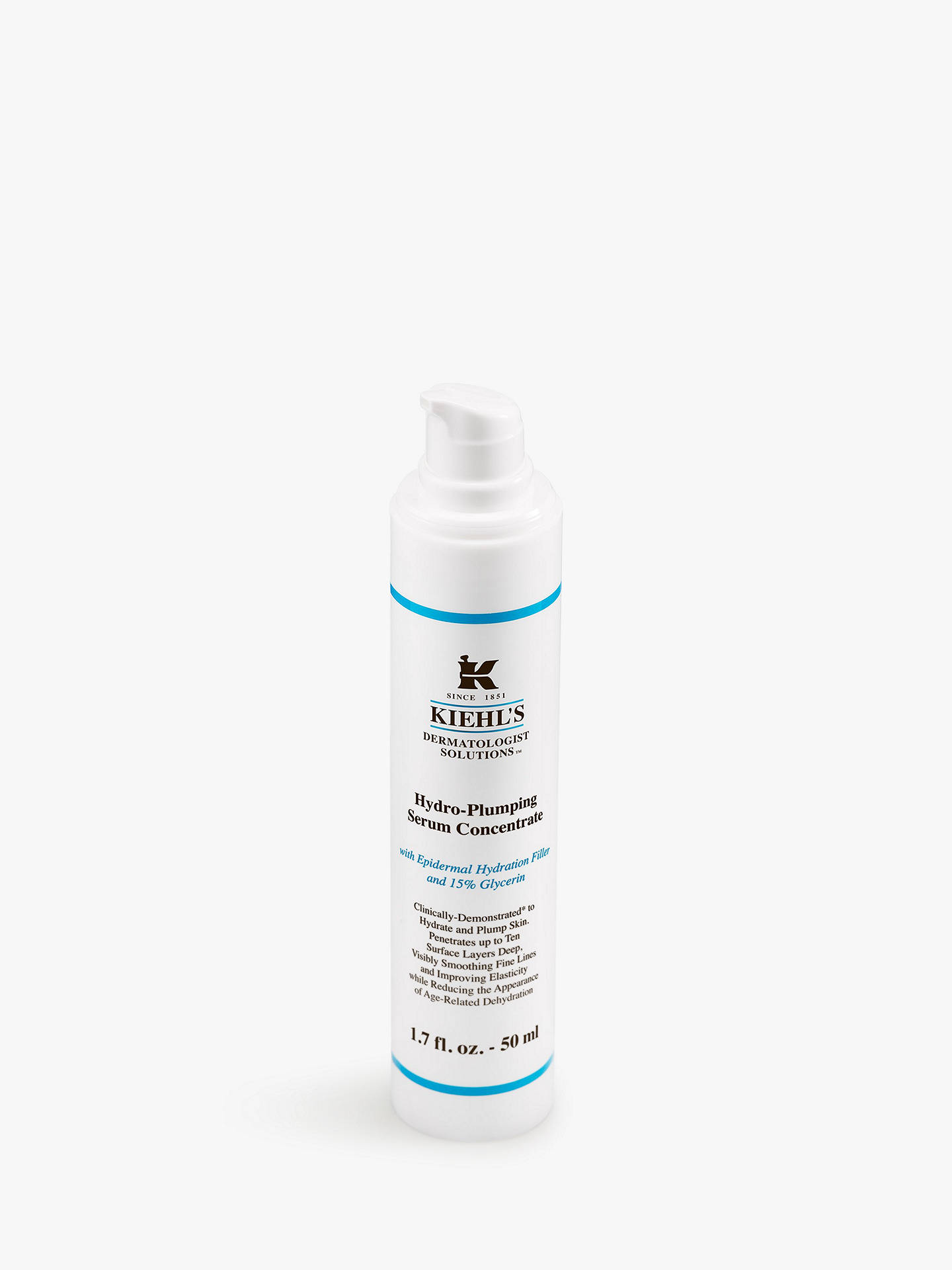 BuyKiehl's Hydro Plumping Re-Texturising Serum Concentrate, 50ml Online at johnlewis.com
