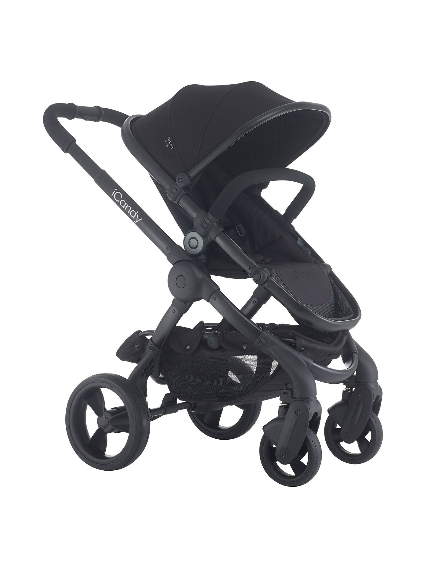 Icandy Peach 3 Pushchair With Black Chassis Amp Jet Black