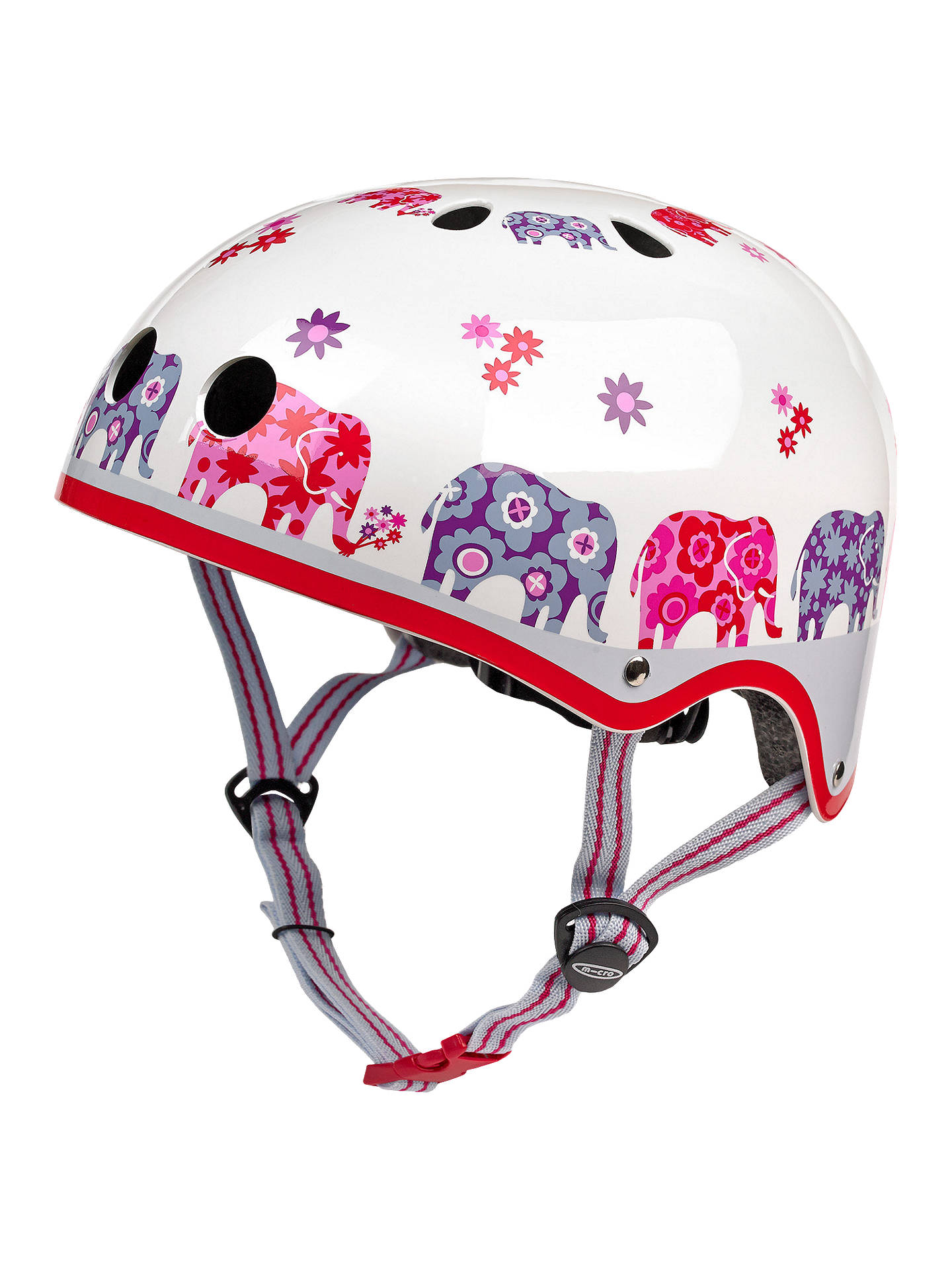 BuyMicro Scooter Safety Helmet, Elephant, Small Online at johnlewis.com