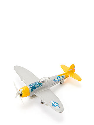 Buy John Lewis & Partners P-47 Thunderbolt Die-Cast Plane Online at johnlewis.com