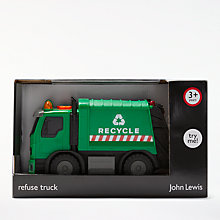 Buy John Lewis Refuse Lorry, Small Online at johnlewis.com