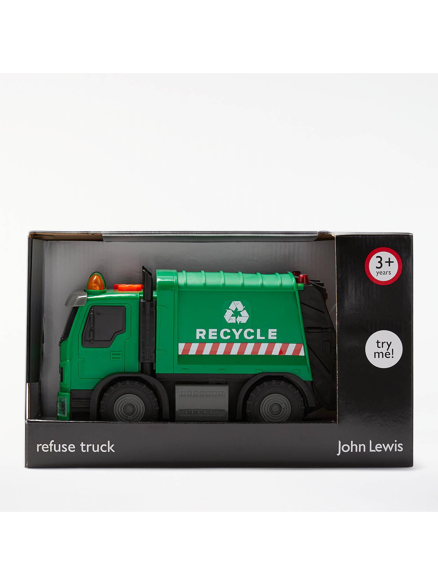 john lewis partners refuse lorry small at john lewis partners