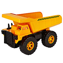 Buy John Lewis Construction Dump Truck, Large Online at johnlewis.com
