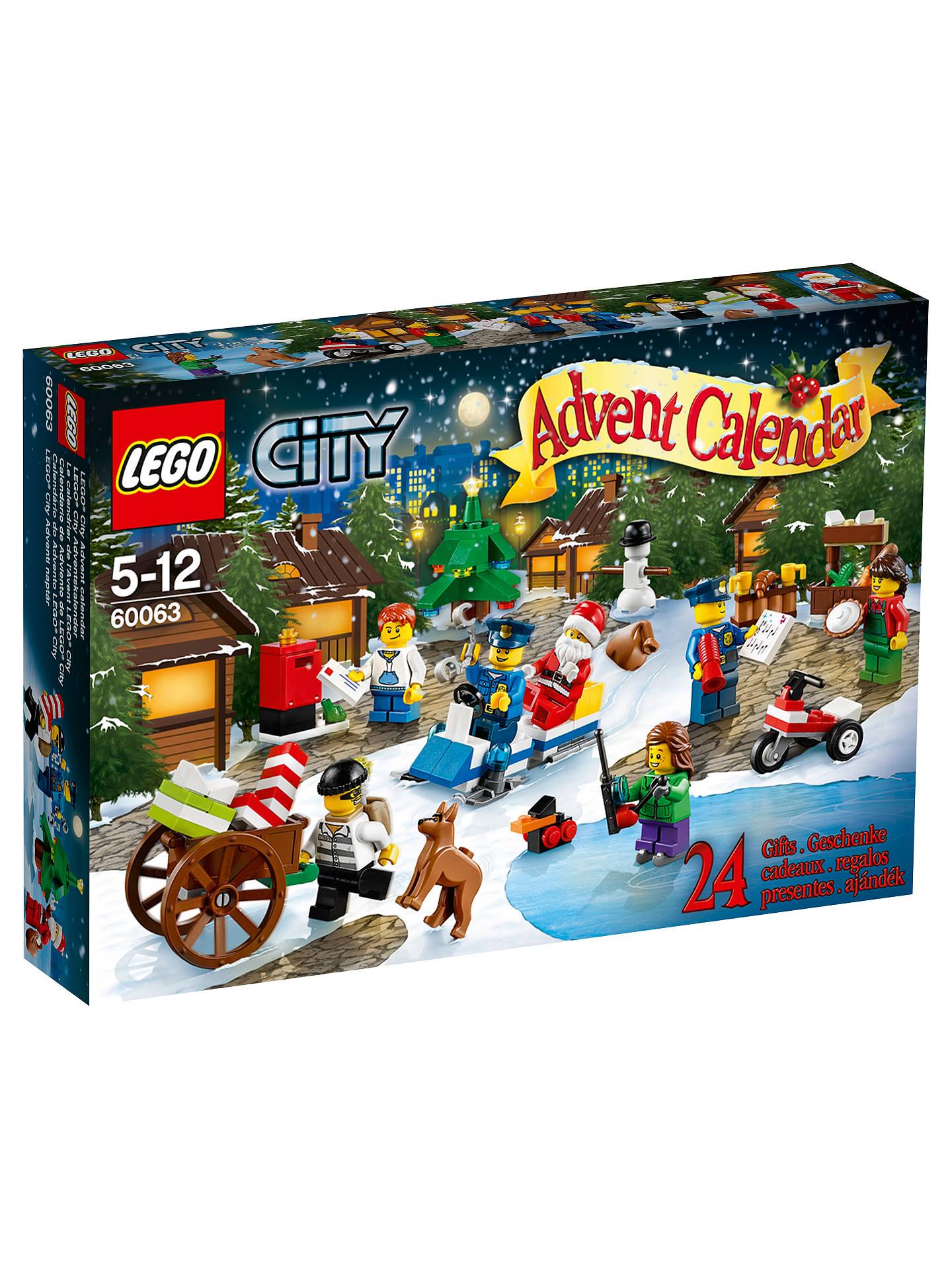 Lego City Christmas Advent Calendar At John Lewis Partners