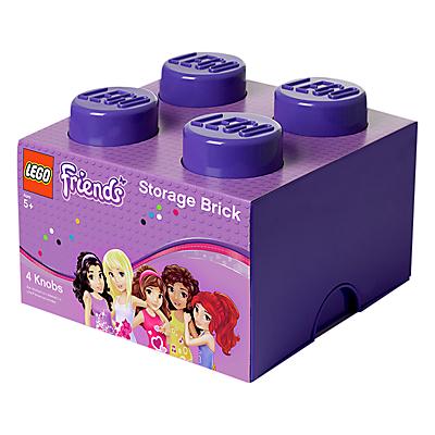 LEGO Friends 4 Stud Storage Brick