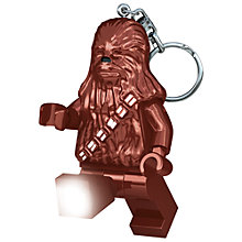 Buy LEGO Star Wars KE60 Chewbacca Keyring Light Online at johnlewis.com