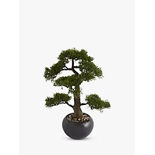 Buy Artificial Bonsai Tree in a Stone Pot Online at johnlewis.com