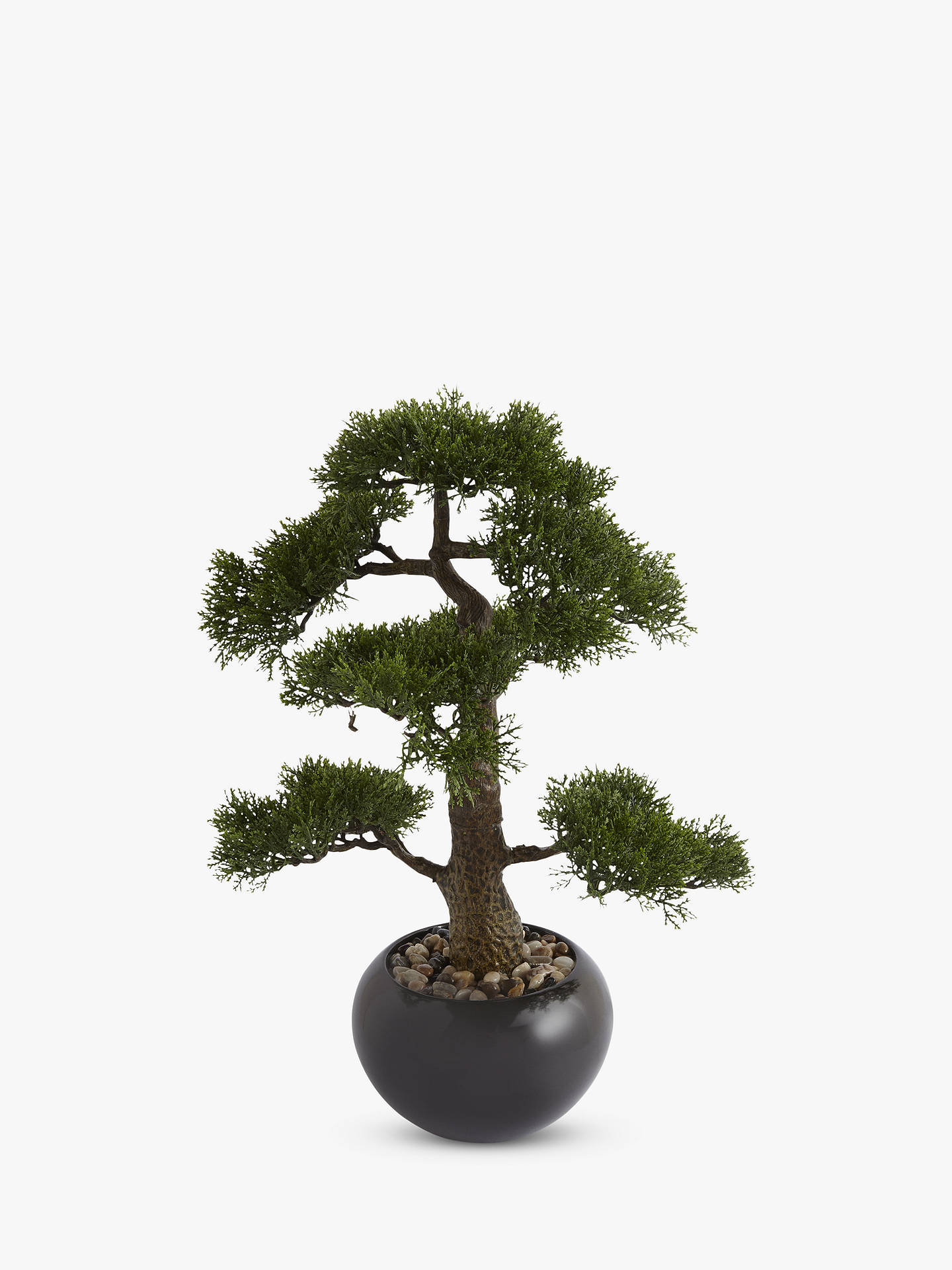 Artificial Bonsai Tree in a Stone Pot at John Lewis & Partners